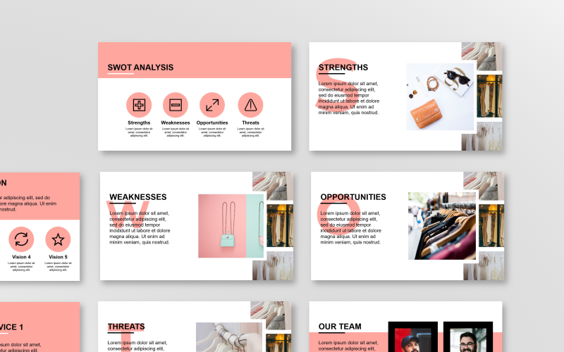 Fashion Presentation PowerPoint template