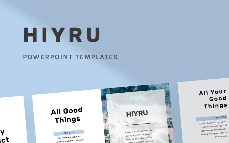 HIYRU PowerPoint Template