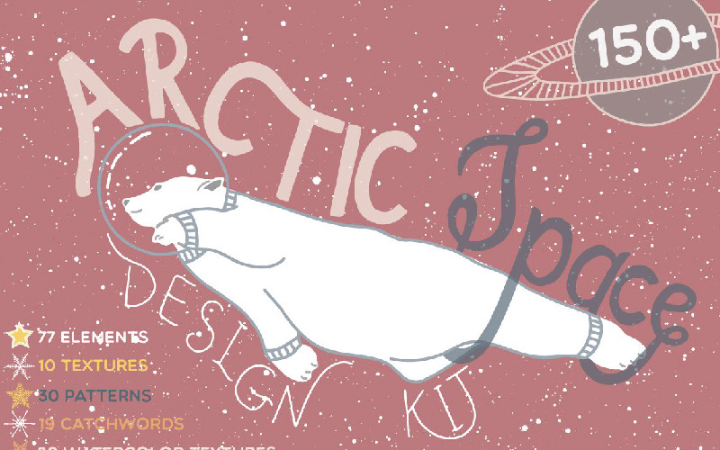 Arctic Space Collection - Illustration