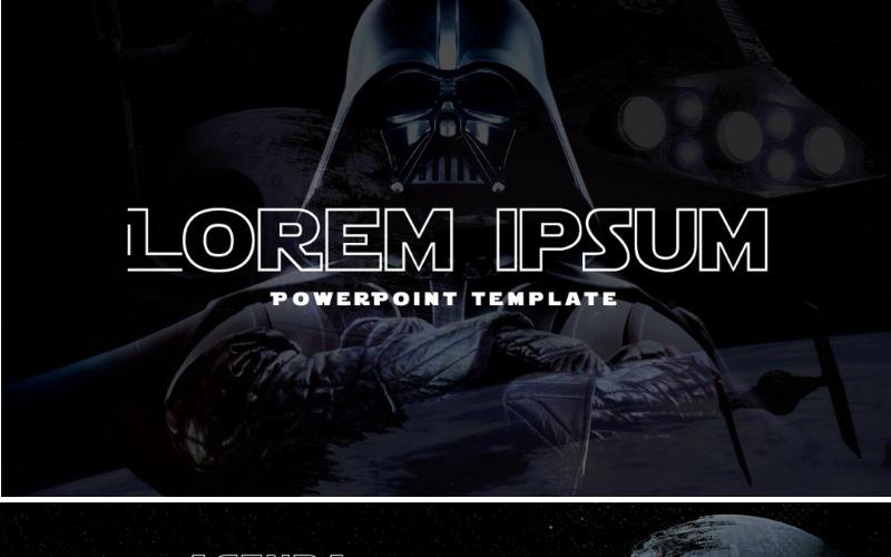 Star Wars PowerPoint-sjabloon