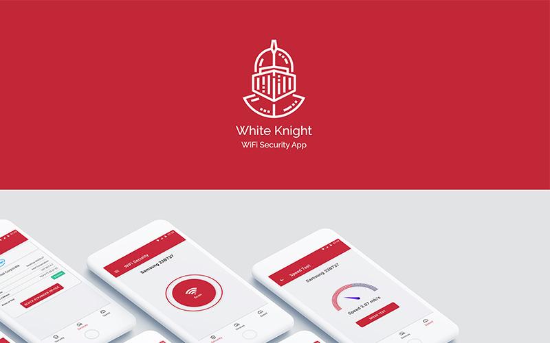 White Knight WiFi Security App Kit UI Elements