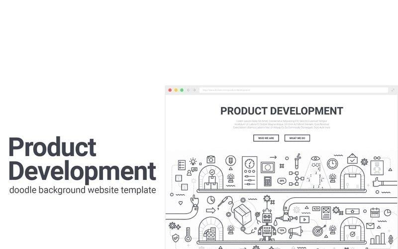 Doodle - Background de Desenvolvimento de Produto
