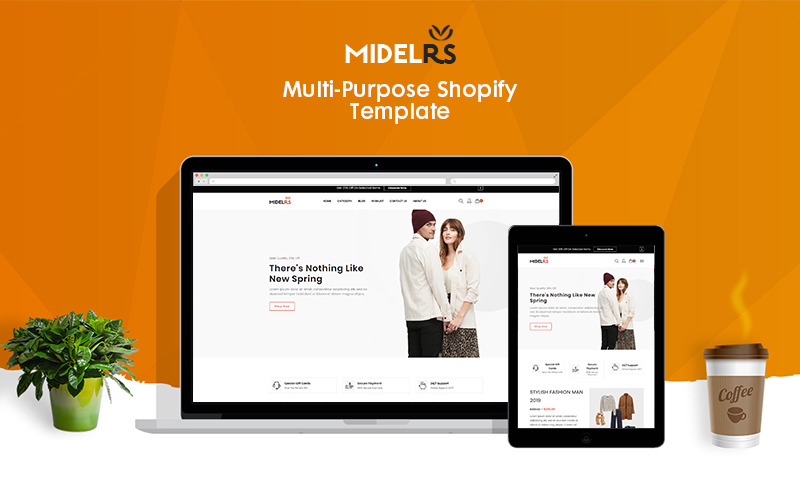 Midelrs - Fashion eCommerce Shopify Teması