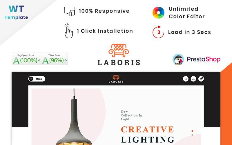 Laboris - Tema PrestaShop de Loja de Móveis Modernos
