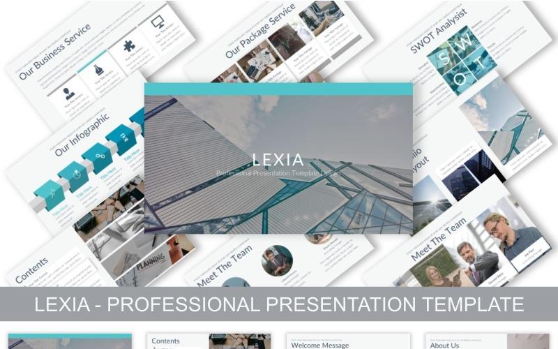 Lexia - Professional - Keynote-Vorlage