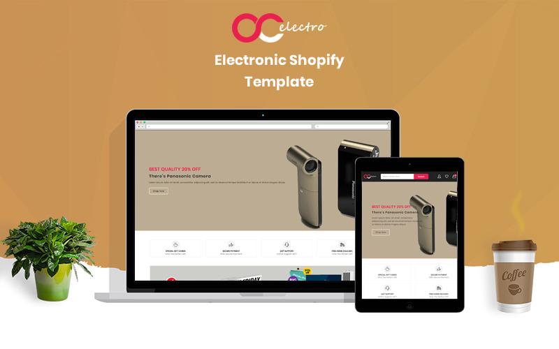 Electrofyshop - Il tema Shopify di elettronica e smartphone