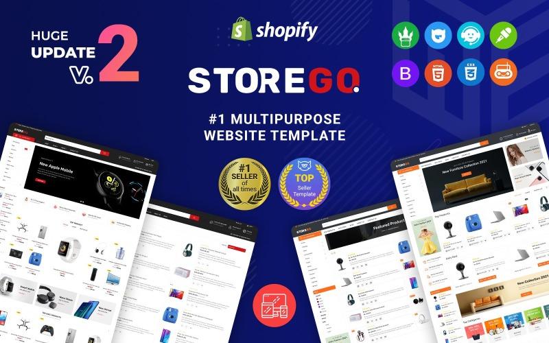 StoreGo - Thème Shopify électronique premium polyvalent