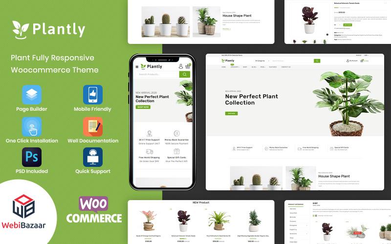 Plantly - Tema WooCommerce per piante e vivaio