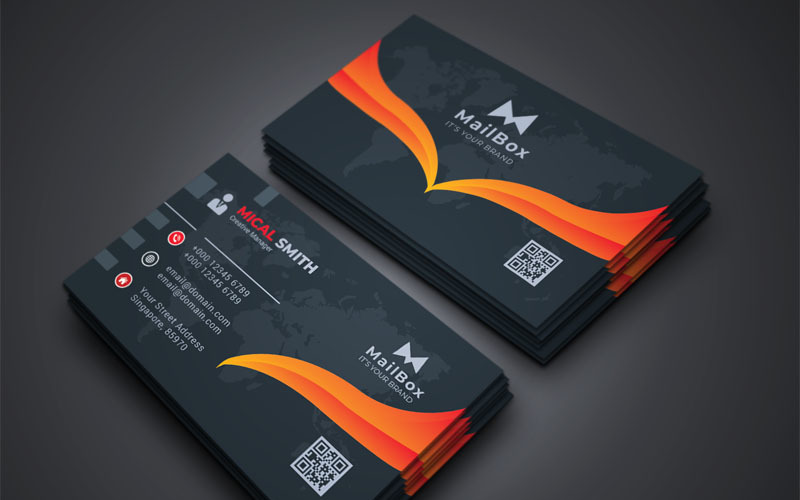 Mailbox - Business Card Vol_5 - Corporate Identity Template