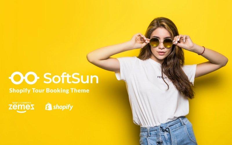 Modèle de magasin de lunettes de soleil Thème Shopify