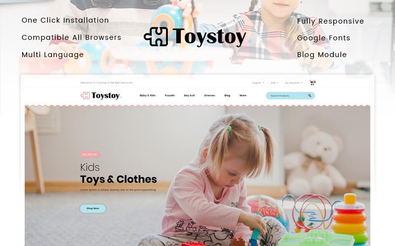 ToysToy - Thème PrestaShop pour magasin de jouets pour enfants