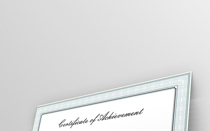 Classical and Simple Certificate Template