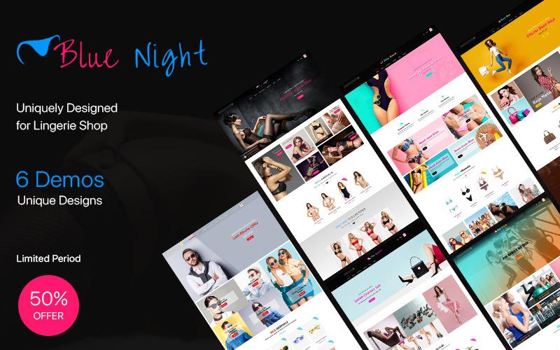 Blue Night - Multi Purpose Shopify Theme