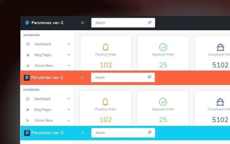 Perumnas - HTML Bootstrap 4 Admin Template