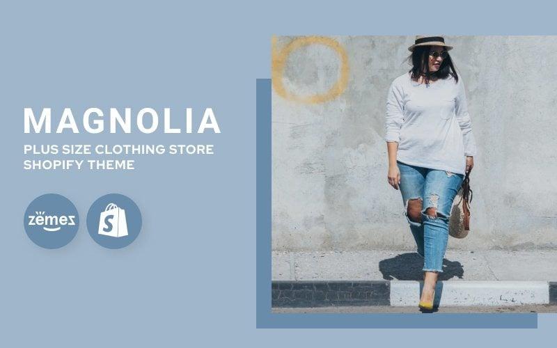 Grote maten kledingwinkel Shopify-thema