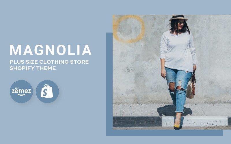 Tema Shopify de loja de roupas de tamanho grande