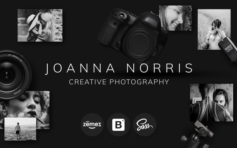 Joanna Norris - fotós portfólió sablon