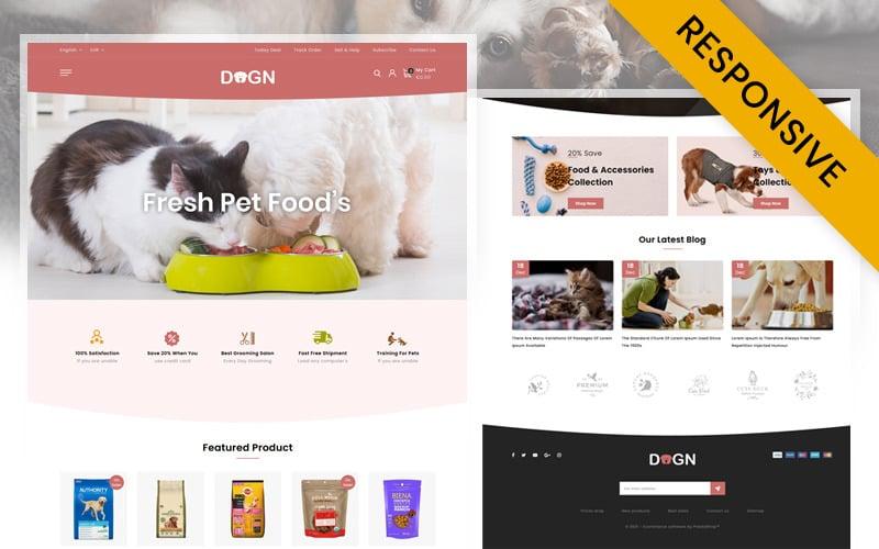 Dogn - Pets Food Store PrestaShop Theme