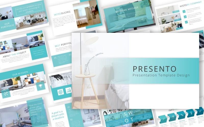 Presento - Présentation - Modèle Keynote