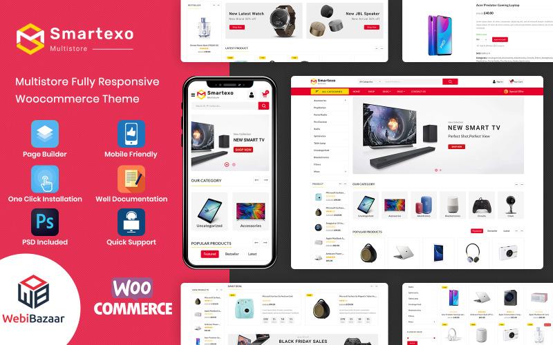 Smartexo - електронна багатоцільова тема WooCommerce