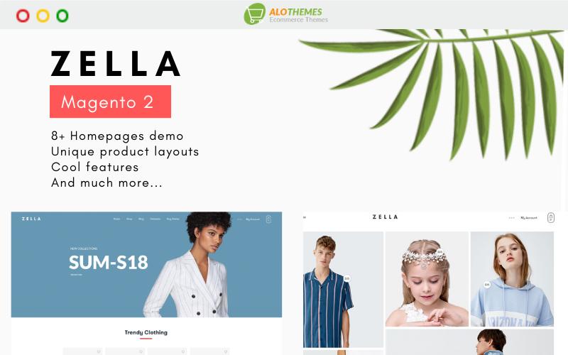 Zella - Premium Responsive and RTL supported Magento Theme