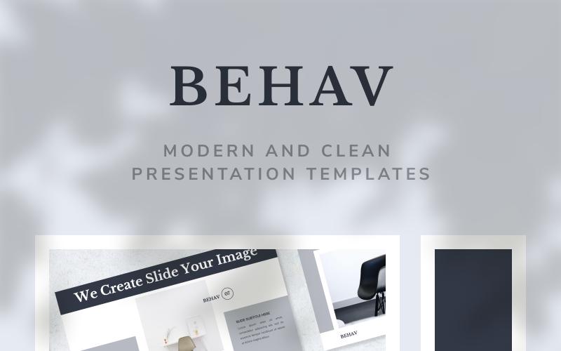 BEHAV - Modèle Keynote