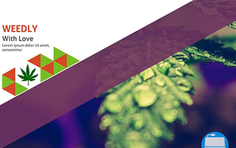 Weedly Medical Cannabis - Modèle Keynote