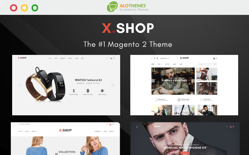 Xshop - Multipurpose and Fully Responsive Magento Theme