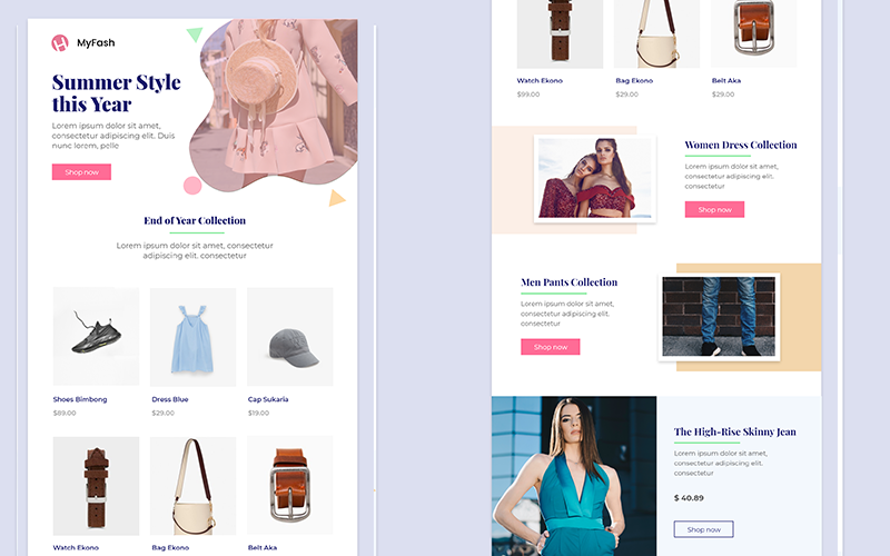 MyFash - Fashion Multipurpose Email Newsletter Template