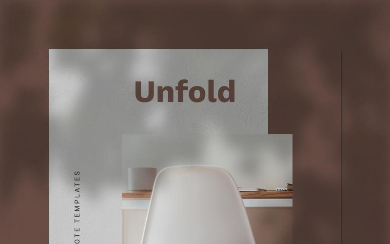 UNFOLD - Keynote template