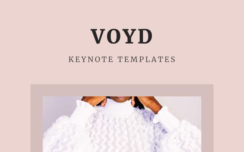 VOYD - Plantilla de Keynote