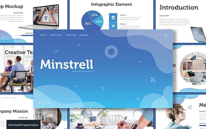 Minstrell - Keynote template