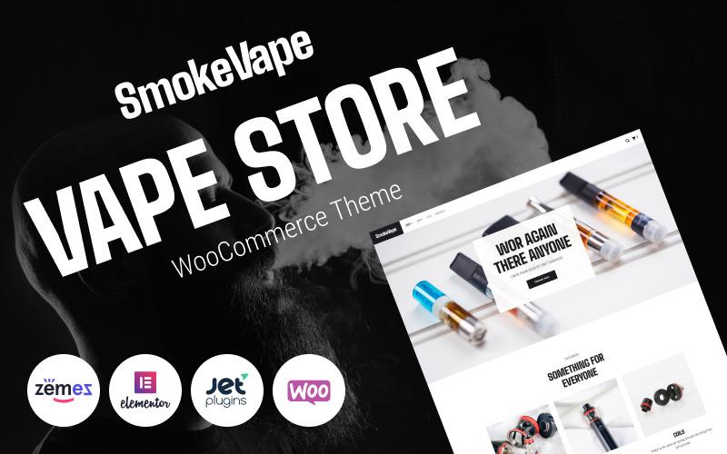 SmokeVape - Vape Shop e-kereskedelmi webhelyek WooCommerce téma