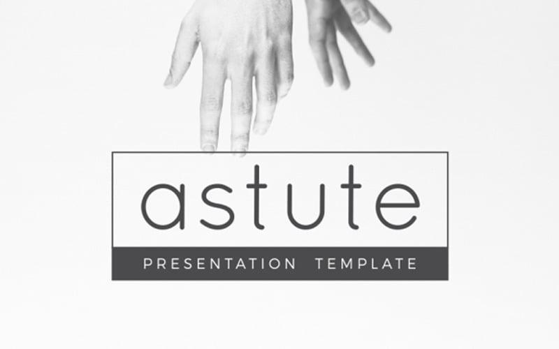 Astute Multifunctional PowerPoint template