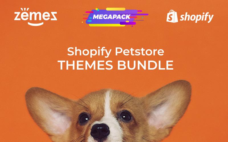 Pack de thèmes pour les magasins d'animaux de compagnie Thème Shopify
