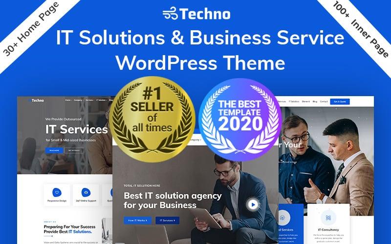 Techno - Tema WordPress per soluzioni IT e consulenza aziendale