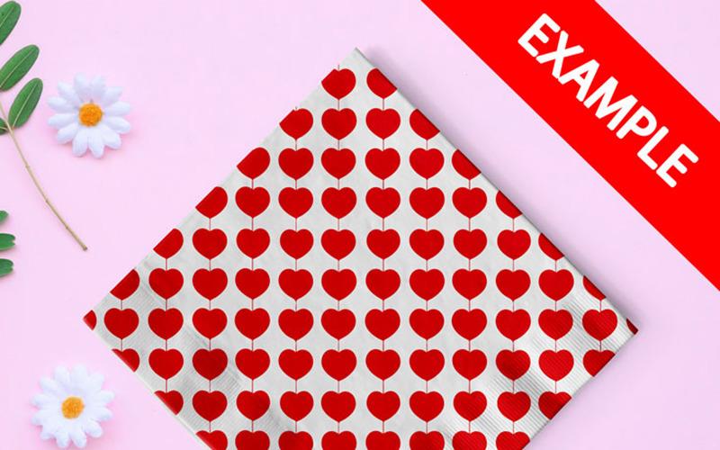 Saint Valentines Day Pattern