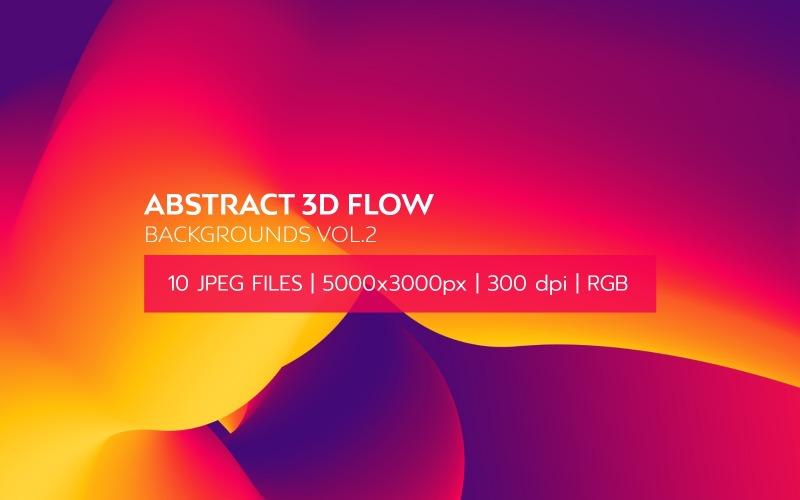 Sfondo astratto flusso 3D Vol.2