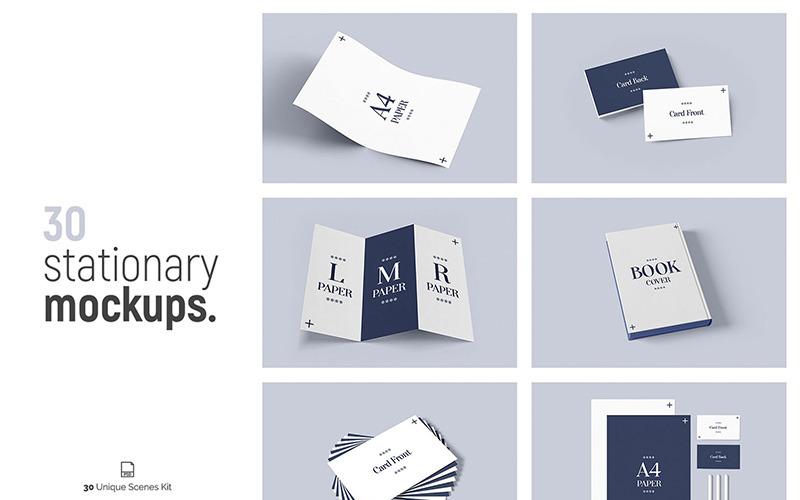 30 Stationery Product Mockup