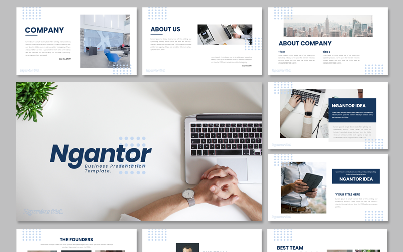 Ngantor - Business PowerPoint Template
