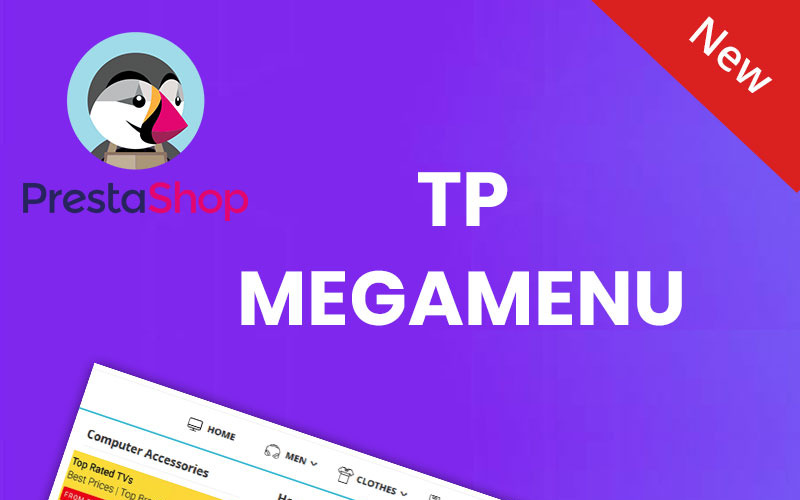 TP Megamenu PrestaShop Module