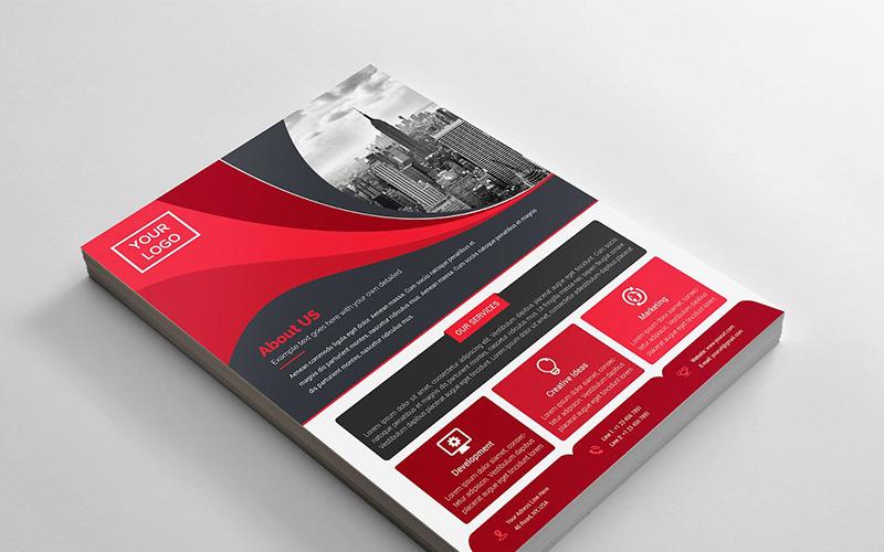 Curvy Flyer - Corporate Identity Template