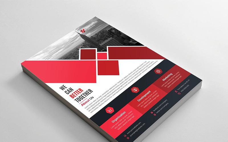 Geometric Flyer - Corporate Identity Template