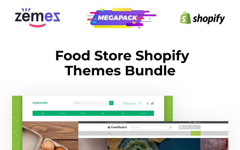 Najlepszy motyw Shopify Food Stores Shopify