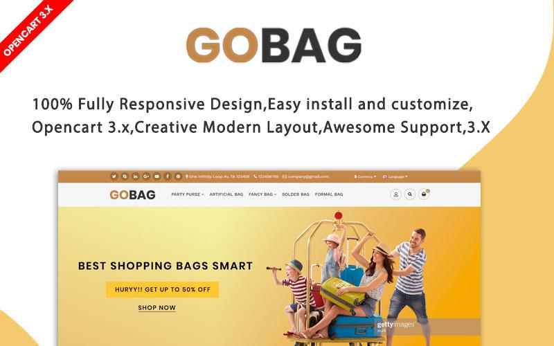 Gobag Responsive Website OpenCart-sjabloon
