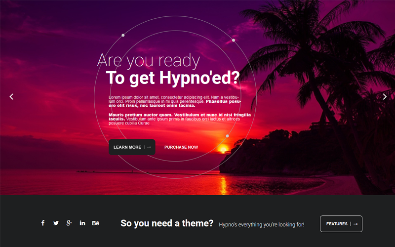 Hypno - moderní responzivní šablona Joomla