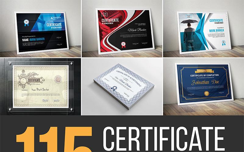 Szablon certyfikatu Ultimate Bundle