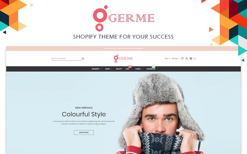Germe - Tema de Shopify de moda