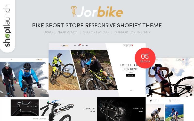 Jorbike - Bike Sport Store Responsive Shopify Theme