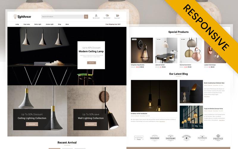 LightHouse - Világítástechnikai üzlet PrestaShop téma